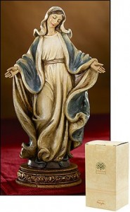 Our Lady of Grace Statue - 6.25 Inch [MIL1040]