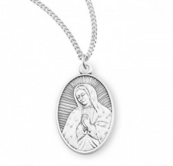 Our Lady of Guadalupe Medal Sterling Silver [REM2081]