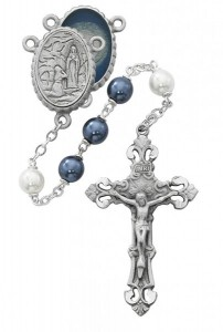 Our Lady of Lourdes Water Center Rosary [MVRB1225]