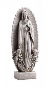 "Our Lady Of Guadalupe Garden Statue 23.5"" High [CBSD020]"