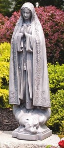 Our Lady of Fatima Garden Statue 33.5 Inches [MSA3019]