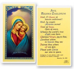 Our Lady of Good Counsel Laminated Prayer Cards 25 Pack [HPR285]