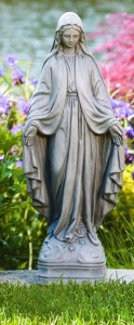 Our Lady of Grace Garden Statue 25 Inches [MSA3025]