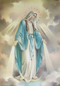 "Our Lady of Grace Large Poster - 19""W x 27""H [HFA1013]"