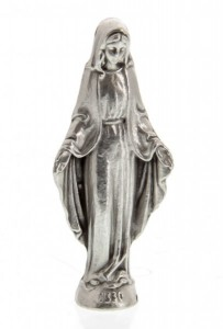 Our Lady of Grace Pocket Statue with Holy Card [HPC005]