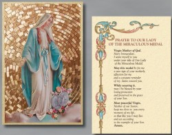 Our Lady of Grace Prayer Wall Plaque [HFA0253]