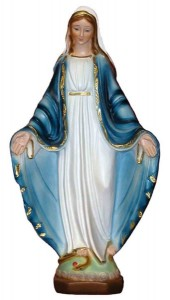 Our Lady of Grace Statue - 13 Inches [GST1018]