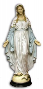 Our Lady of Grace Statue - 36 Inches [GST1002]