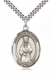 Our Lady of Grace of Hope Patron Saint Medal [EN6359]