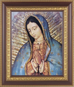 Our Lady of Guadalupe Framed Print [HFP217]