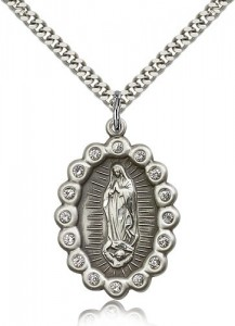 Large Our Lady of Guadalupe Medal [BM0535]