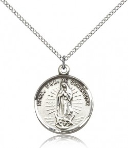 Our Lady of Guadalupe Medal Spanish [BM0536]