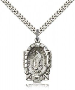 Our Lady of Guadalupe Medal [BM0537]