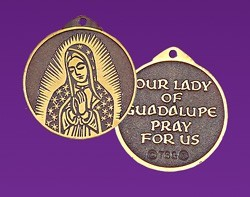 Our Lady of Guadalupe Pendant [TCG0436]