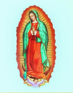 Our Lady of Guadalupe Print - Sold in 3 per pack [HFA1149]