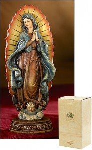 "Our Lady of Guadalupe Statue - 7""H [MIL1035]"
