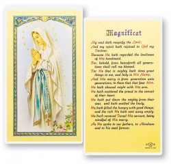 Our Lady of Lourdes Laminated Prayer Cards 25 Pack [HPR210]