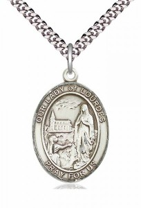 Our Lady of Lourdes Medal [EN6416]
