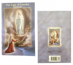 Our Lady of Lourdes Novena Prayer Pamphlet - Pack of 10 [HRNV252]