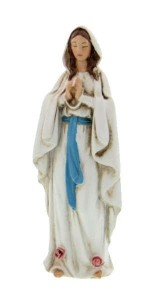 "Our Lady of Lourdes Statue 4"" [RM46477]"