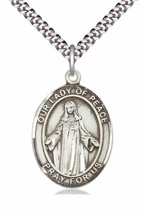 Our Lady of Peace Patron Saint Medal [EN6374]