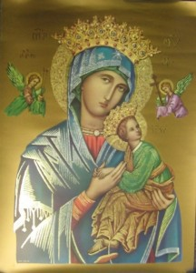 Our Lady of Perpetual Help Large Poster [HFA1014]