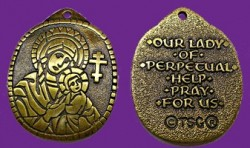 Our Lady of Perpetual Help Pendant [TCG0435]