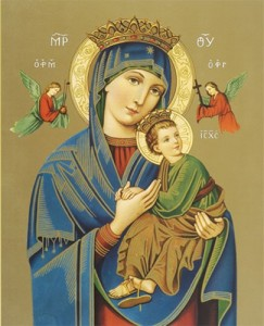 Our Lady of Perpetual Help Print - Sold in 3 per pack [HFA1156]