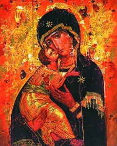 Our Lady of Vladimir Print - Sold in 3 per pack [HFA1154]