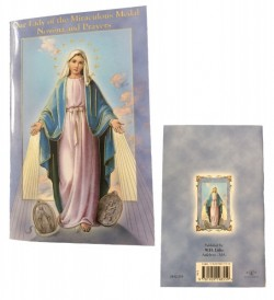 Our Lady of the Miraculous Medal Novena Prayer Books - 10 Per Order [HRNV253]
