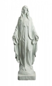 "Outdoor Church Size Our Lady of Grace 48"" Statue [CBST091]"