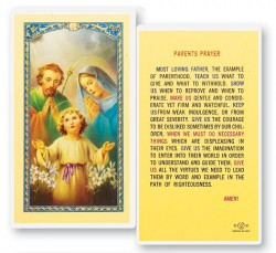 Parents Laminated Prayer Cards 25 Pack [HPR745]
