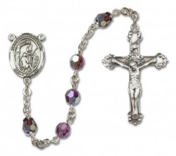 Paul the Hermit Sterling Silver Heirloom Rosary Fancy Crucifix [RBEN1049]