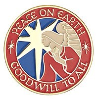 Peace and Goodwill Lapel Pin [TCG0106]