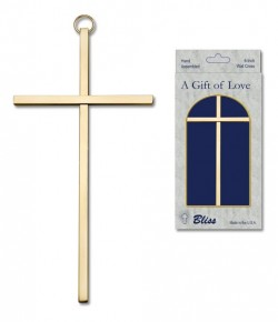 "Plain Wall Cross 6"", two color combinations [CRB0029]"