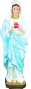 Plastic Immaculate Heart of Mary Statue - 36 inch [SAP3265]