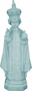 Plastic Infant of Prague Statue - 24 inch [SAP2455]