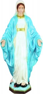 Plastic Our Lady of Grace Statue - 32 inch [SAP3205]