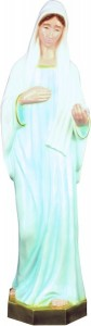 Plastic Our Lady of Medjugorje Statue - 24 inch [SAP2492]