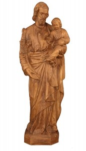 Plastic Saint Joseph & Child Statue - 24 inch [SAP0034]