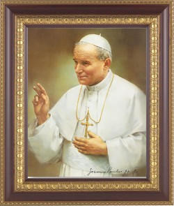 Pope John Paul II Framed Print [HFP570]