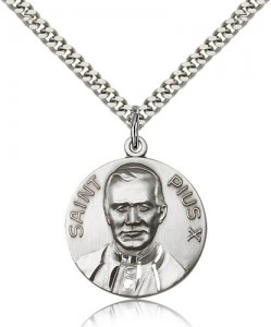Men's Saint Pius X Medal [BM0572]