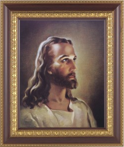 Portrait of Christ Framed Print [HFP146]