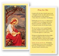 Pray For Me Laminated Prayer Cards 25 Pack [HPR750]