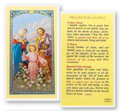 Prayer For A Family Laminated Prayer Cards 25 Pack [HPR746]