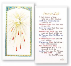 Prayer For Light Holy Spirit Laminated Prayer Cards 25 Pack [HPR655]