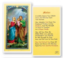 Prayer For Mother Laminated Prayer Cards 25 Pack [HPR748]