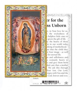 Prayer For The Helpless Unborn Prayer Cards 100 Pack [HPR734221]