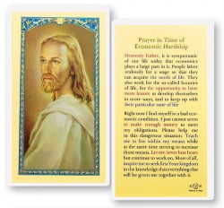 Prayer In Times of Economic Struggle Laminated Prayer Cards 25 Pack [HPR779]
