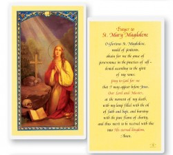 Prayer To Mary Magdalene Laminated Prayer Cards 25 Pack [HPR496]